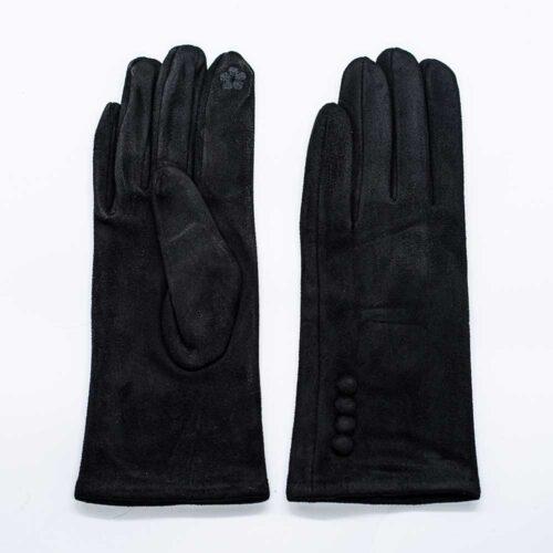 γάντια μαύρα